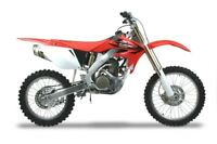 2010 CRF250R Two Brothers Aluminum Slip On Exhaust Honda M7 Gold