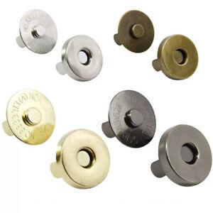 18mm Magnetic Snaps Purse Fasteners Bag Making Hardware Bag Closure Clasp Stud