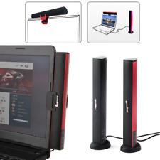 Mini USB Loudspeaker Laptop Subwoofer Stereo for Soundbar Noteook PC Computer TV
