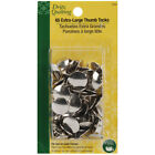 Dritz Quilting Thumb Tacks Heads Extra Large 65-Count