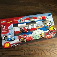 "LEGO DUPLO Disney Pixar Cars 5829 ""The Pit Stop"" New&Sealed 52"
