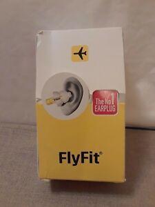 Alpine Hearing Protection FlyFit Earplugs + 1 Cleaner  6 Packs