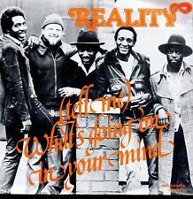 7inch REALITY what's going on in your mind REGGEA GERMAN EX +PS