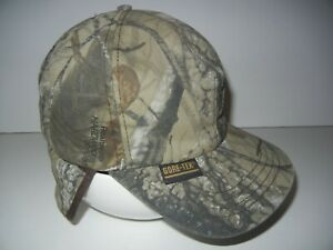 WHITEWATER OUTDOOR Brown Thinsulate GORE-TEX REALTREE CAMO HAT Hunting Cap 7 1/8