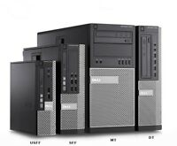 Dell Optiplex 7010 SFF USFF DT Desktop PC i7 i5 i3 SSD HDD Win 10 Pro Computer