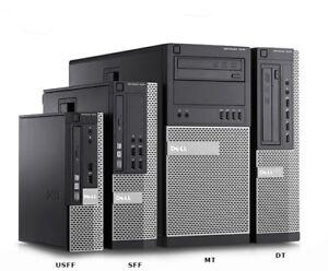 Dell Optiplex 7010 SFF i7 i5 i3 USFF MT SSD HDD Desktop PC Business Computer