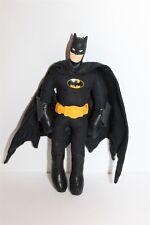 "Batman Plush Soft Toy 8"" Applause Vinyl Plastic Head 1989"