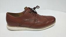 Cole Haan Original Grand Wingtip Oxford, Brown Leather, Men's 14 M