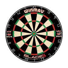 Winmau Blade 4 Bristle Dart Board, Black