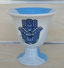 Pythagoras cup Pythagorean cup of justice evil third eye protector light blue