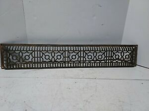 Reclaimed Vintage Cold air return vent ornate cast iron architectural salvage