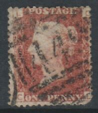 Great Britain/GB - 1858, 1d Penny Red - Letters CL - Plate 203 - Used- SG 43 (e)