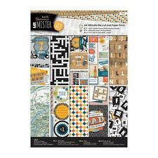 Docrafts Papermania Mr.Mister ultimative A4 Stanze Schneiden & Papier Packung