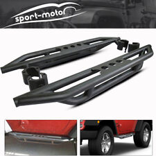 Side Step Running Board Nerf Bar Armor Bars for 07-17 Jeep Wrangler JK 2 Door