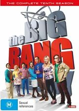 The Big Bang Theory : Season 10 (DVD, 2017, 3-Disc Set, Box Set)