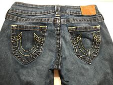 True Religion Jeans Women's Size 29 X 33 Zipper Front Authentic Made in America