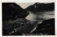 Ansichtskarte Dorf Walchensee in Oberbayern - Original Fliegeraufnahme - s/w