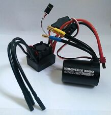 1/10 rc voiture buggy 4P 3650 capteur brushless 3900KV motor & 60A esc combo set