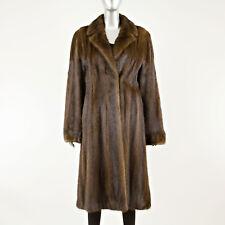 Mahogany Mink 7/8 Coat - Size XS (Vintage Furs)