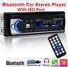 Car Stereo Radio Bluetooth In-dash Head Unit Player FM MP3/USB/SD/AUX for Pod
