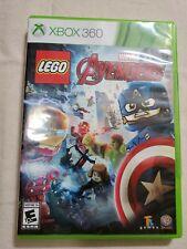 LEGO Marvel's Avengers (Microsoft Xbox 360, 2016) factory sticker on right