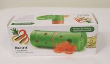 Baccarat Curly Whirly Vegetable Spiraliser Green (Good for Vegetable Noodles)