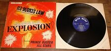 PRINCE BUSTER ~ IT'S BURKE'S LAW ~ UK BLUE BEAT LP 1965 ~ JAMAICA SKA ROCKSTEADY