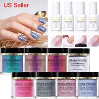 BORN PRETTY Dipping Powder Glitter Holographic Chameleon Nail Art Starter Kits