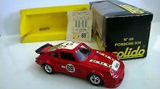 SOLIDO 1:43 DIE CAST CAR PORSCHE 934 RED ART 68