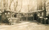 1930s Marin County Shop Woods Muir Monument RPPC Photo Postcard 166