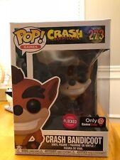 Funko Pop Crash Bandicoot Flocked #273