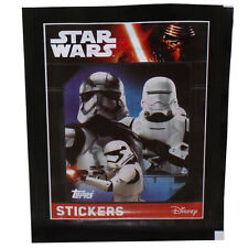 Topps Collectible Stickers - Star Wars The Force Awakens - PACK (5 Stickers) New