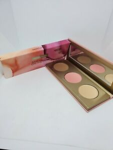New bareMinerals Bare Glow On-The-Go Face Palette Bronzer, Highlight, Blush