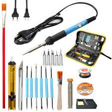 60W Adjustable Temperature Electric Soldering iron Desoldering Pump Welding Tool