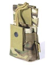 FLYYE MOLLE Short PRC Radio Walkie Talkie Pouch – MultiCam US Army Camo A-TACS