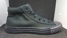 83176b390b6b Converse classic Men s All Star CT Street Mid-Top Black White Sneakers-size