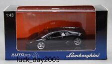 AUTOart LAMBORGHINI MURCIELAGO Metallic Black 1/43 Diecast Model