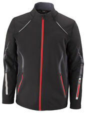 North End Sport Men's Three Layer Left Pocket Polyester Soft Shell Jacket. 88678