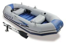Intex Mariner 3 Boat Set Grey