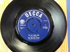 ROLLING STONES  ITS ALL OVER NOW decca 64 -2C-6C 45 EX