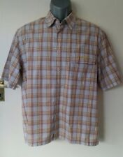 Rip Curl Men's Blue Red Yellow Check Shirt Size Medium In Great Condition