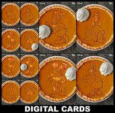 Topps Disney Collect THANKSGIVING PIES 2020 [12 CARD WHIPPED CREAM/STANDARD SETS