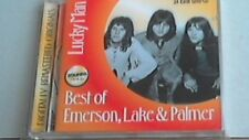 24 Carati oro CD Emerson Lake & Palmer-Lucky Man -- Zounds-CD