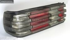 Mercedes Benz W126 SEC RED SMOKE REAR back TAIL LIGHTS light taillight AMG black