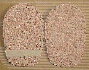 1.0cm/10mm Cork Heel insoles  Lift/Support Insert For Women