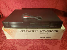 Kenwood KT-880(B) Tuner (AM/AF Stereo) in Original Box, TESTED & GUARANTEED!