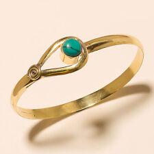 Wonderfull Turquoise Tibetan Silver Solid Brass Bracelet Cuff Jewelry If73