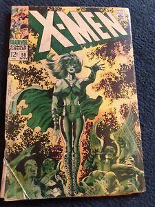 X-MEN # 50 MARVEL 1968