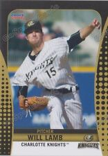 2016 Charlotte Knights Will Lamb RC Rookie White Sox