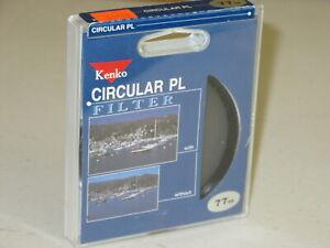 77mm - Kenko Circular Polarizing Filter CPL New       #77m8n1